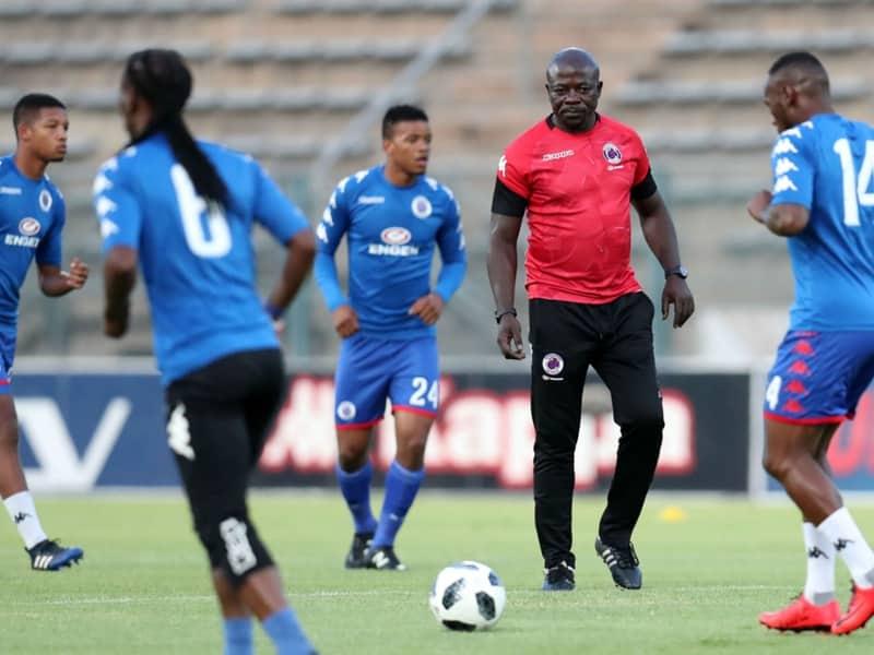 SuperSport United coach Kaitano Tembo credits his players